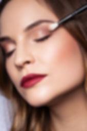 Beautyshooting mit klassischem Makeup
