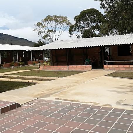 Construcción de vivienda para los administradores del Templo Comedor ubicado en Urrao, Antioquia.