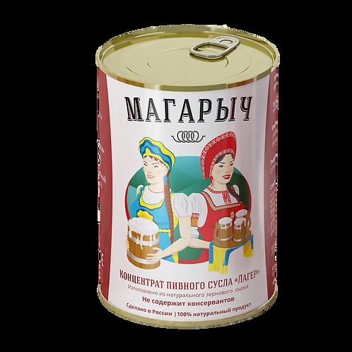 КОНЦЕНТРАТ ПИВНОГО СУСЛА МАГАРЫЧ (ЛАГЕР) 5,2 КГ