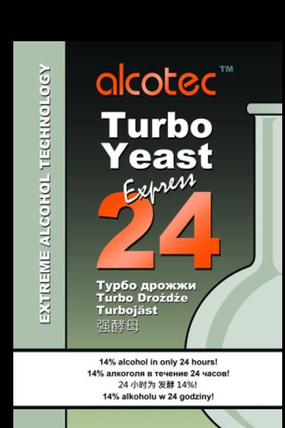 ДРОЖЖИ СПИРТОВЫЕ ALCOTEC 24 TURBO YEAST  205 гр