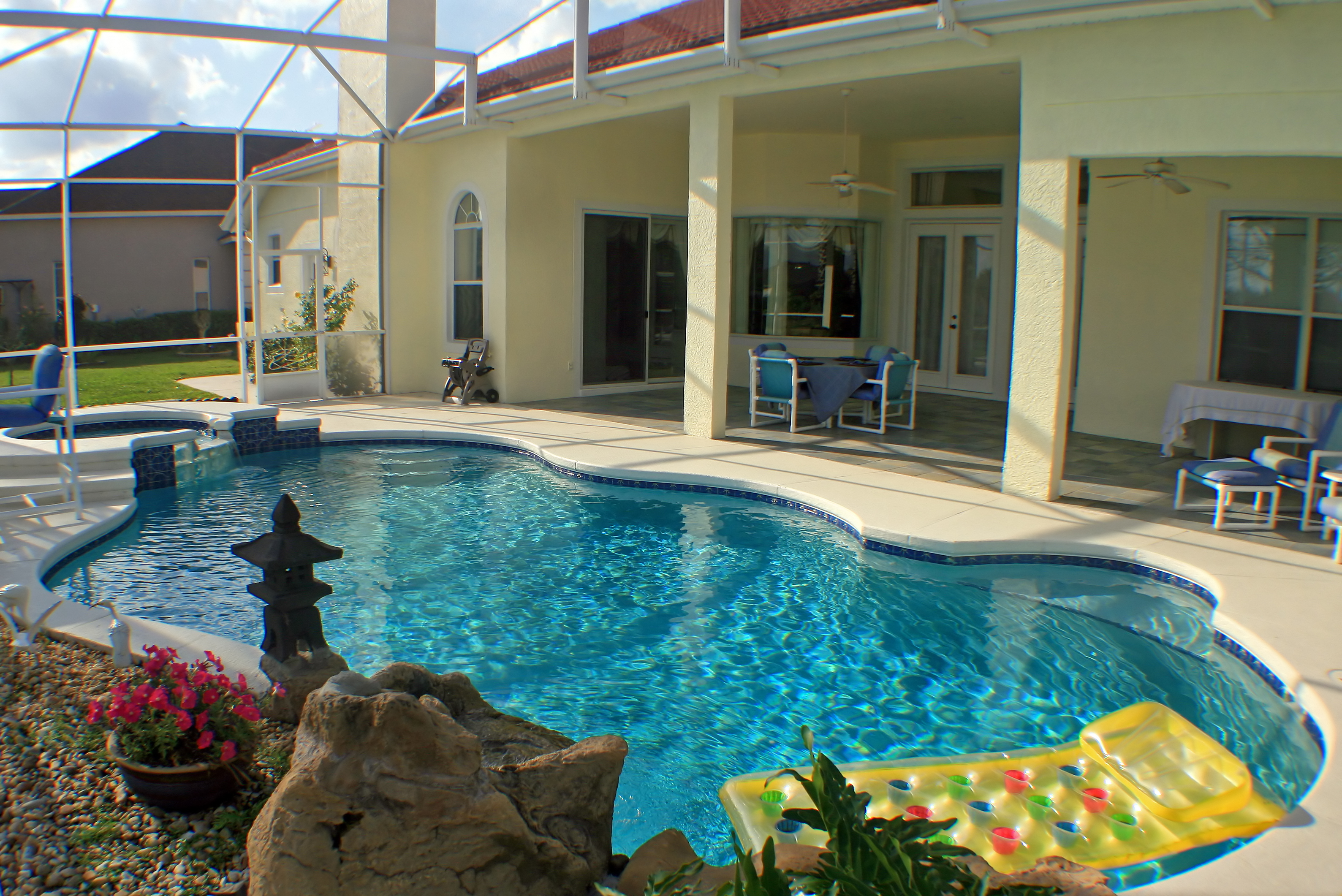 Swimming Pool And Lanai