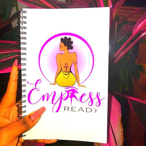 Empress Ready Manifestation Notebook