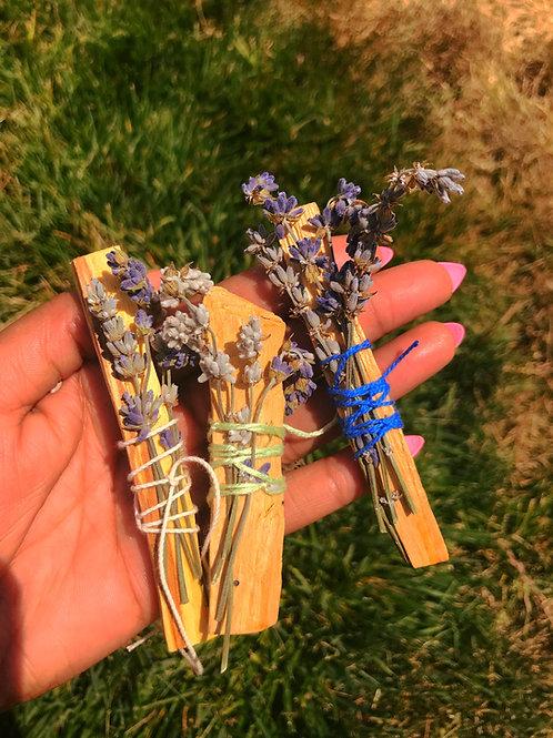 Palo Santo and Lavender Stick