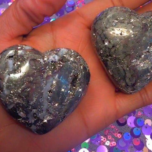 Pyrite (Heart Shape)