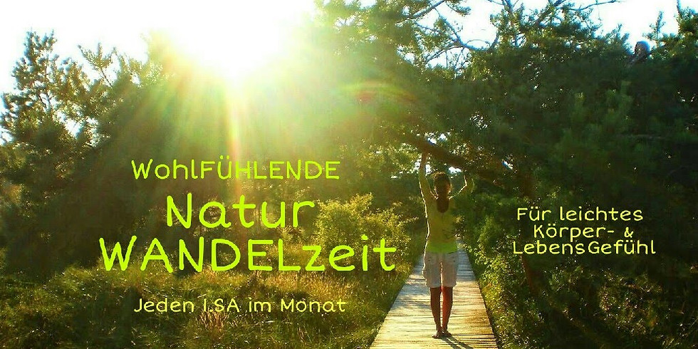 1Tag WohlFÜHLENDE Natur WANDELzeit - inkl. Picknick am See