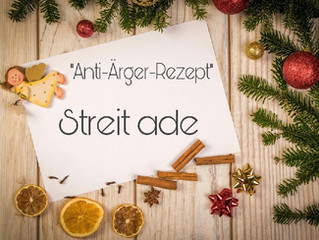 """""""Anti-Ärger-Rezept"""" für harmonische Weihnachten"""