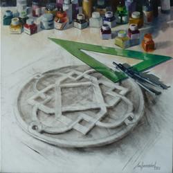 Painting a keystone