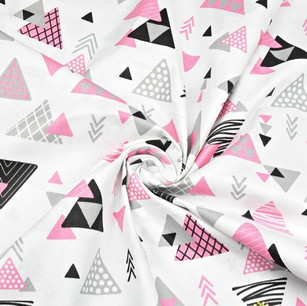 Triangles roses