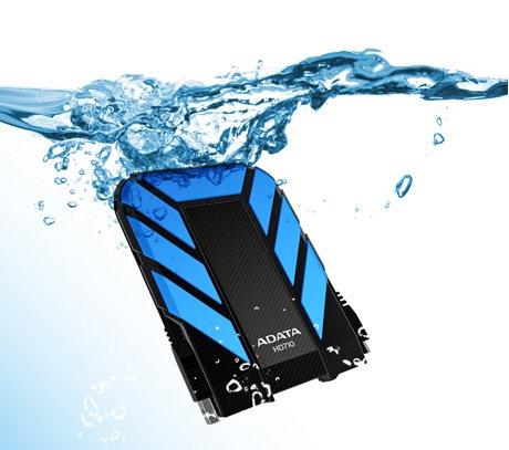 Disco duro externo ADATA USB 3.0 HD710 resistente a golpes, agua y polvo
