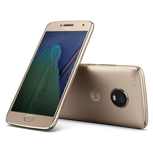 Celular Moto G5 Dorado Almacenamiento 32GB Ram 2GB  Red 4G Dual Sim