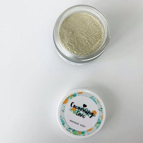 Masque Vert – Nettoie & purifie