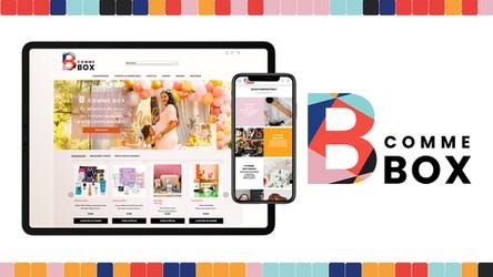 Site e-commerce B COMME BOX