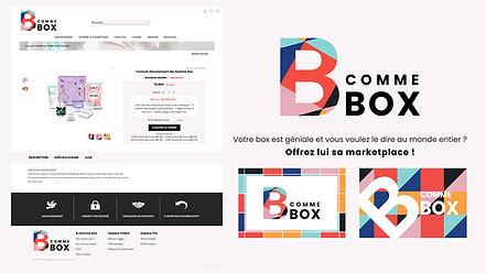 B COMME BOX Identité visuelle