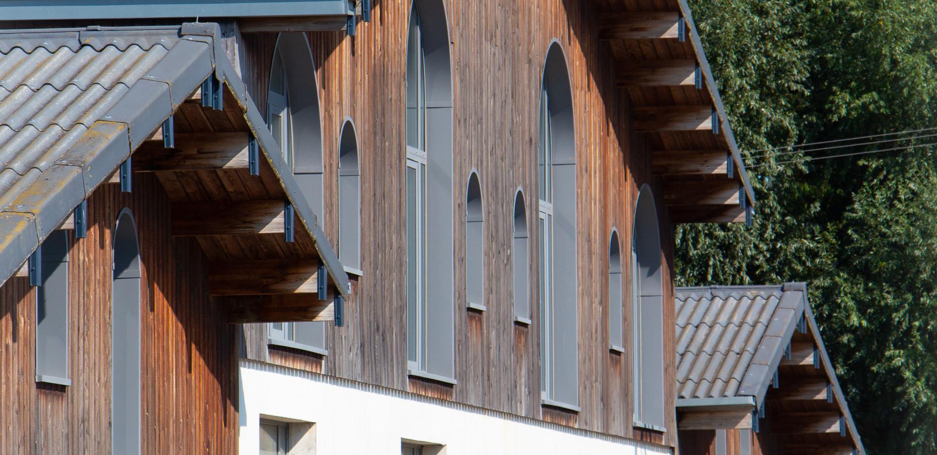 Club-house et espaces de détente