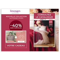 Newsletter Linvosges