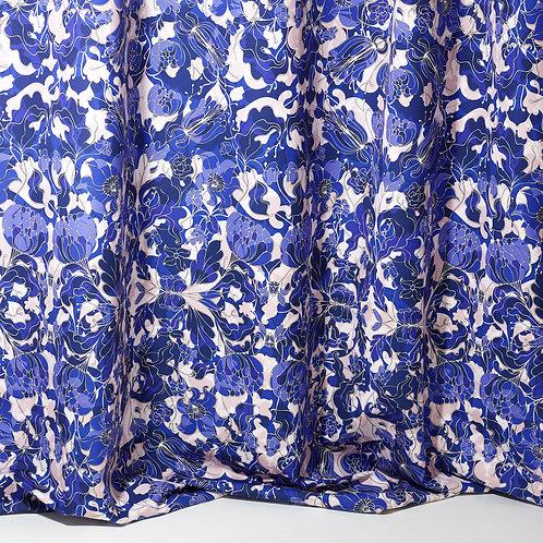 Tissus coton - Au Jardin bleu