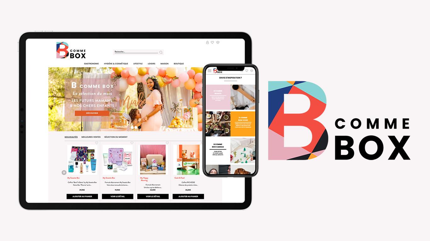 Création de site B COMME BOX