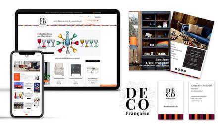 Création de charte graphique et site e-commerce