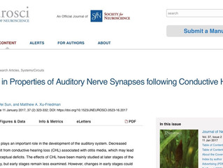 Xiaowen's paper featured at J Neurosci