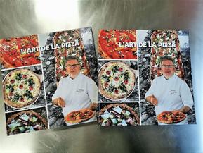 L'ART DE LA PIZZA, le dernier livre de Thierry Graffagnino