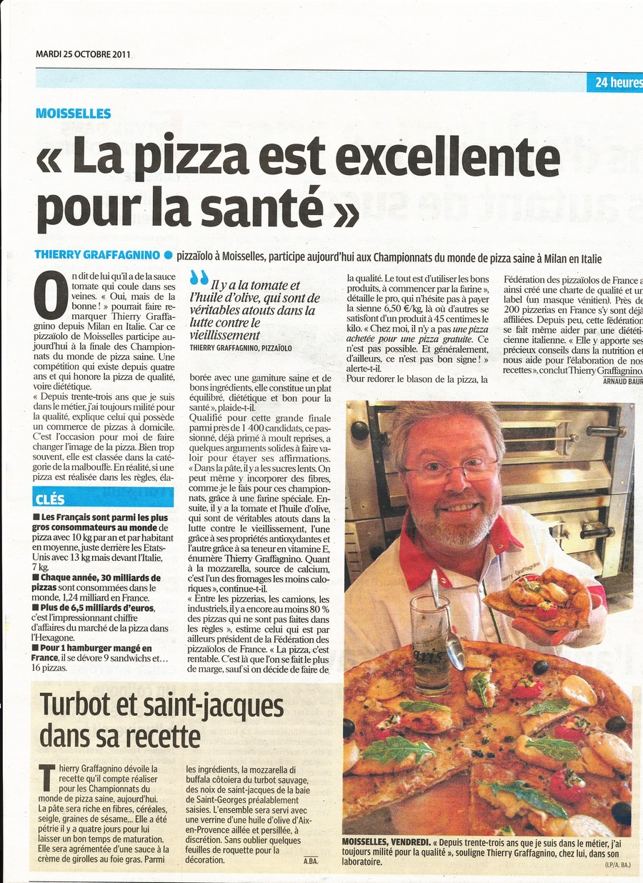 Article santé Thierry Graffanino