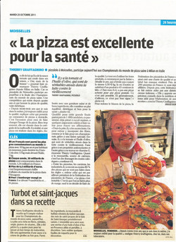 Article santé Thierry Graffanino