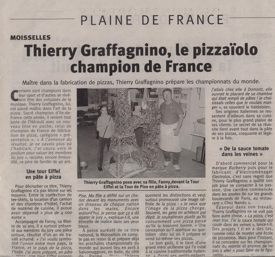 Thierry Graffagnino champion de Fran