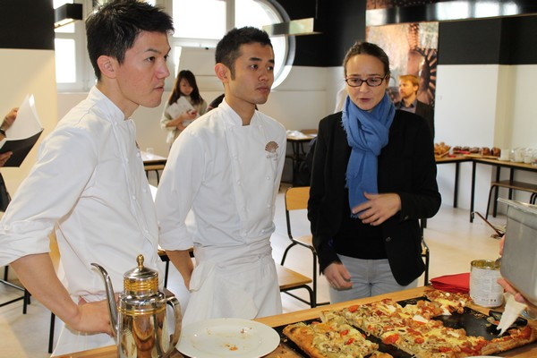 Formation pizza Asie