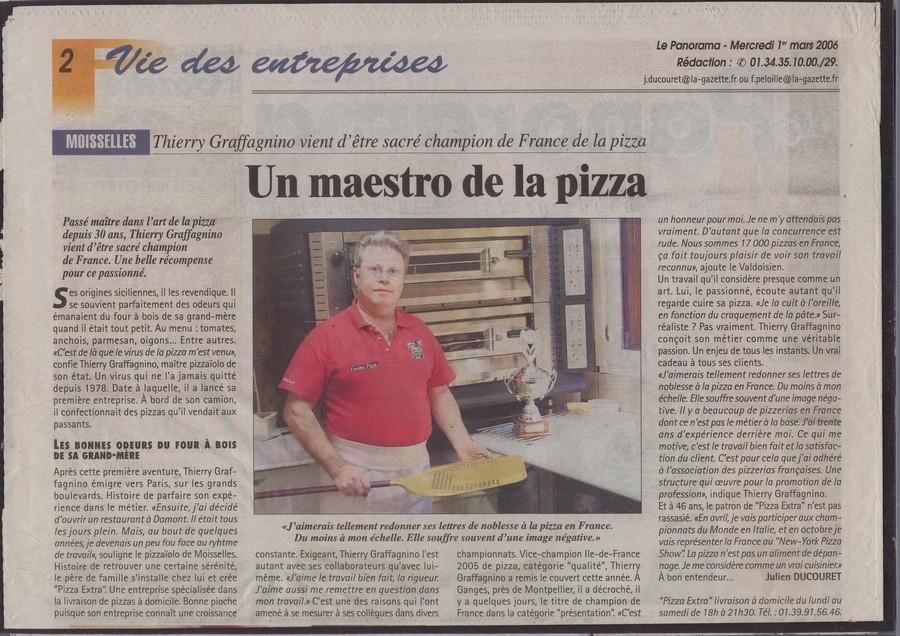 Le maestro de la pizza