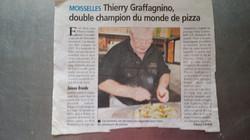 Triple champion du monde de pizza