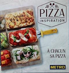 PIZZA INSPIRATION le livret de recettes de pizza METRO signé Thierry Graffagnino