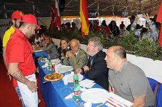 Thierry Graffagnino juge à Naples