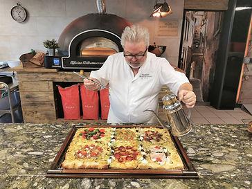 quand la pizza teglia devient un art