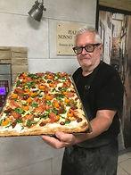 La pizza teglia