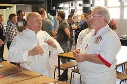 Thierry Marx et Thierry Graffagnino, la passion au service du snacking