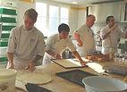 Formation pizza par Thierry Graffagnino aux moulins de Chars