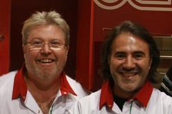 Thierry Graffagnino et José Garcia
