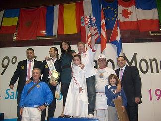 Thierry Graffagnino vice-champion du monde à Salsomaggiore