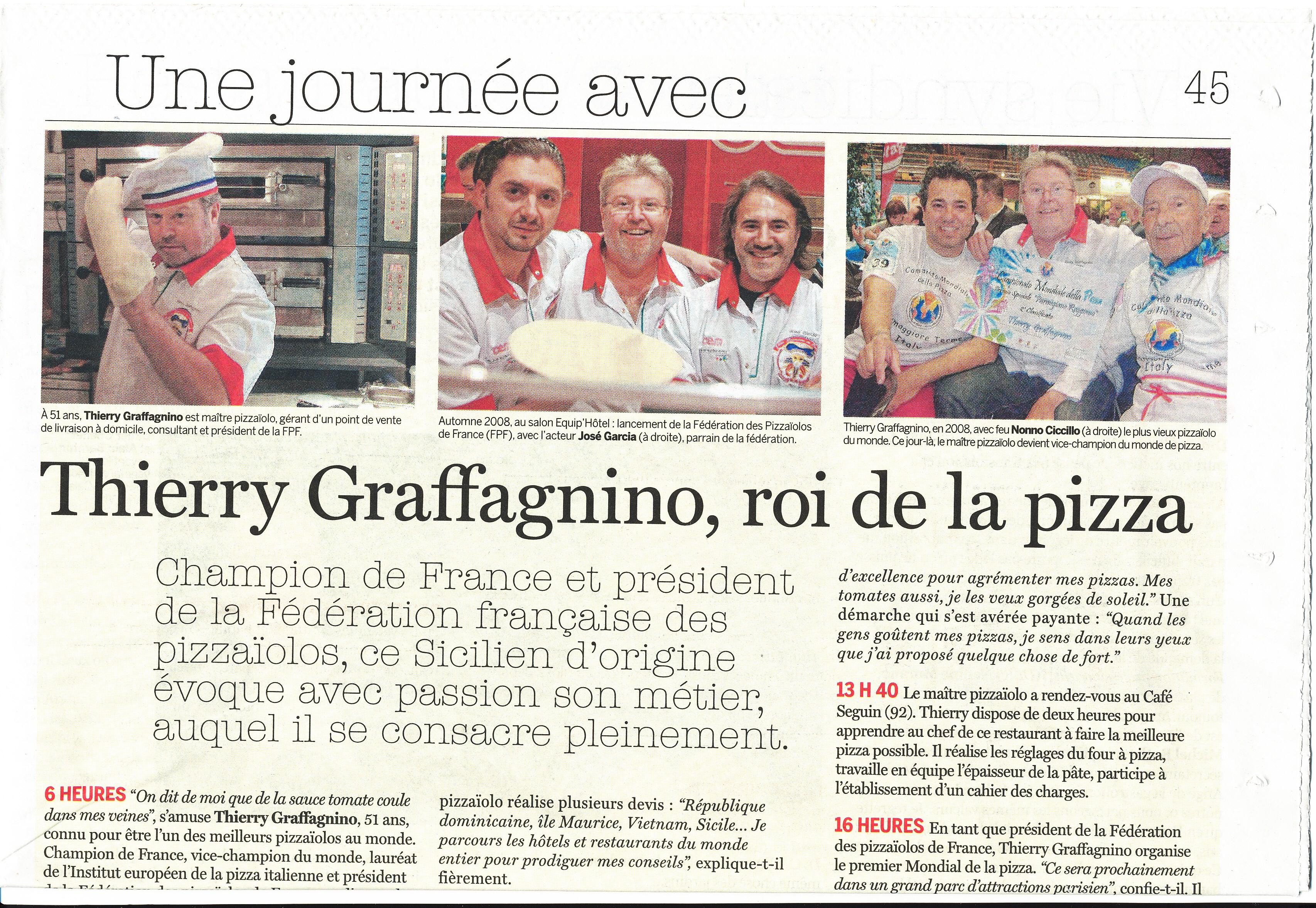 Roi de la pizza - Thierry Gra...