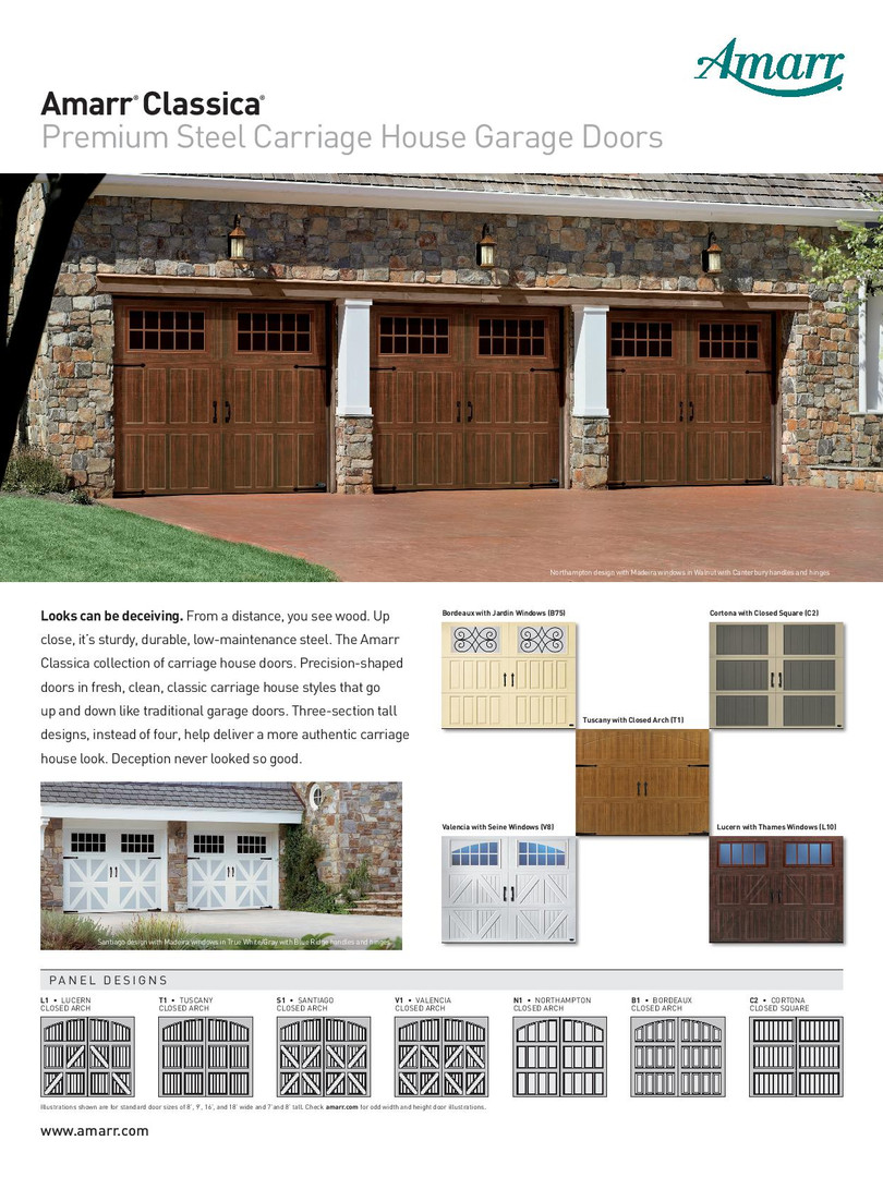 Amarr Classica by Calgary Garage Door Fi