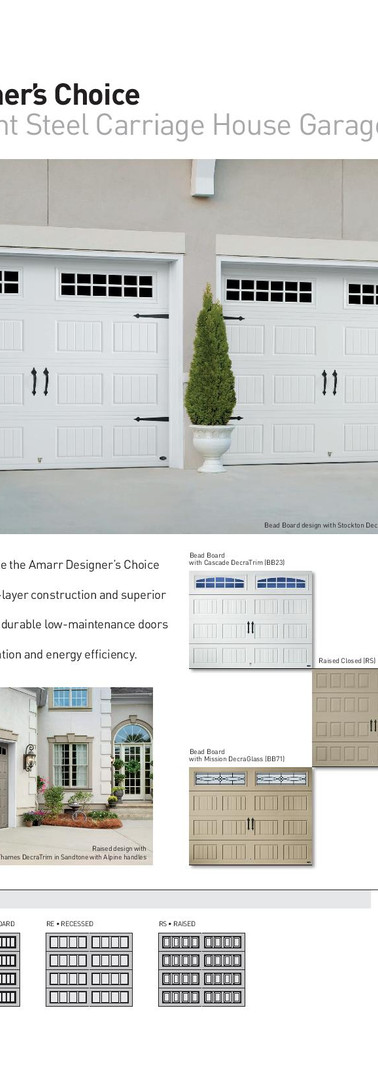 Amarr Designer's Choice by Calgary Garag