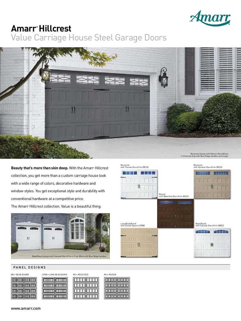 Amarr Hillcrest by Calgary Garage Door F
