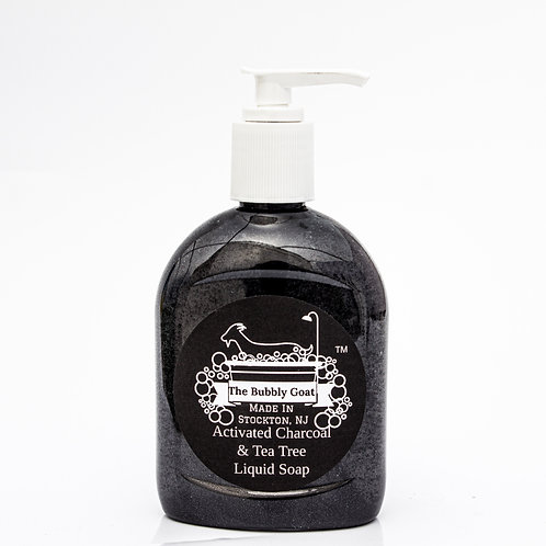 LIQUID HAND SOAP | ACTIVATED CHARCOAL & TEATREE