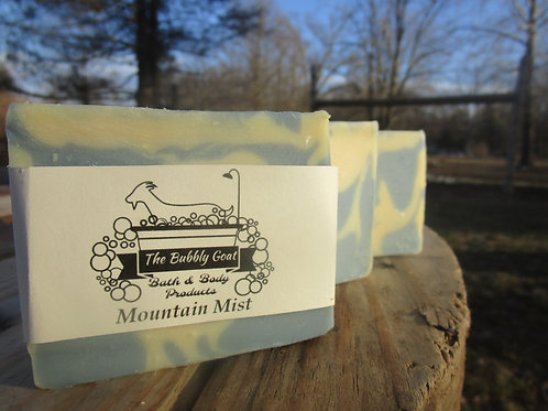 Mountain Mist Goat Milk Soap