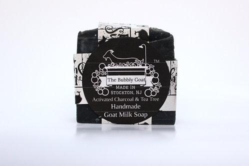 Activated Charcoal & Tea Tree Goat Milk Soap