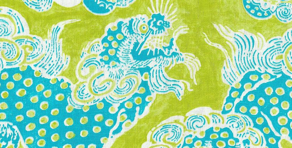Linen Dragon Fabric
