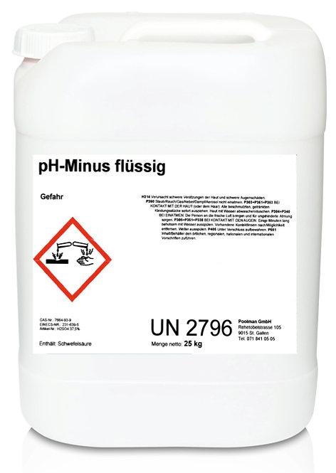 pH-Minus flüssig 25 kg