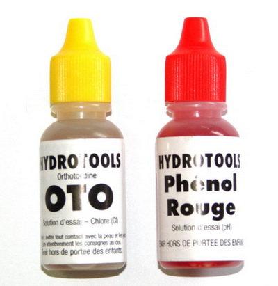 Ersatzindikatoren Set pH und Chlor flüssig