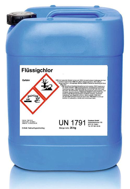 Flüssigchlor 25 kg