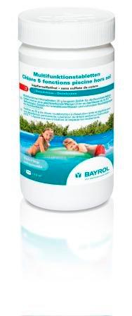 Bayrol Multifunktionstabletten 1 kg / 20 gr